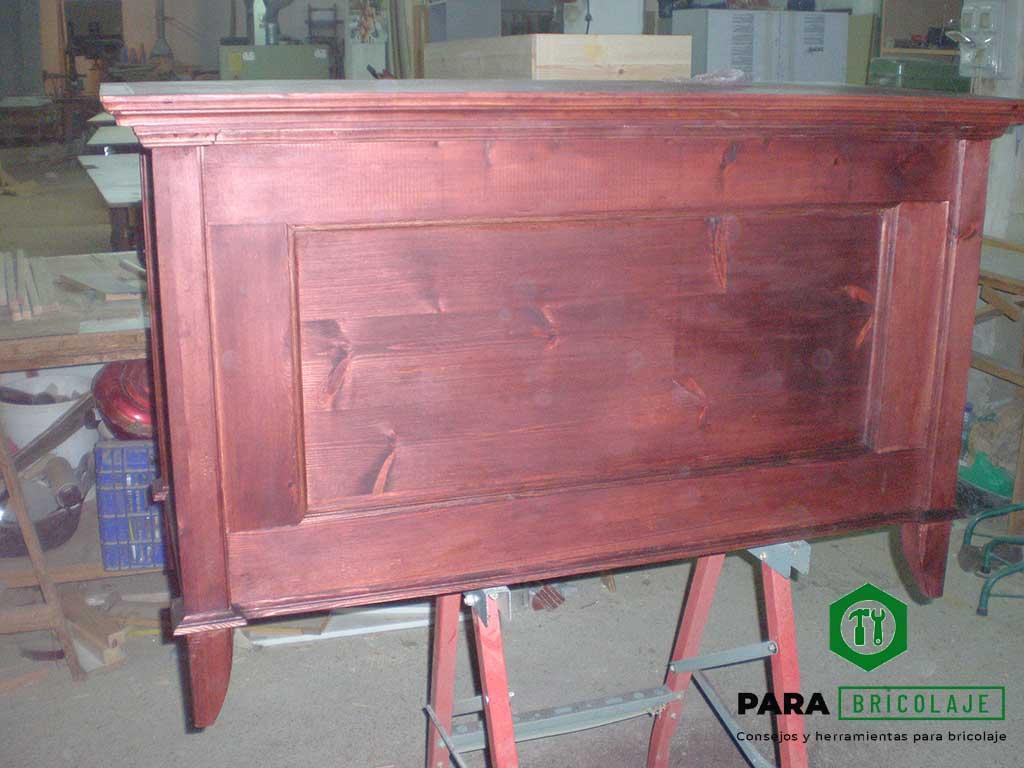 Arcón, baúl de madera maciza en ParaBricolaje